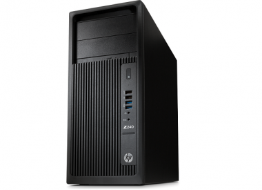 HP Z240 Tower Workstation : Intel Core i7-7700 (3.6GHz / 4core / 8MB), 8GB (1x8GB) nECC RAM, 1TB HDD, DVDRW, Keyboard/ Mouse, Linux, 3Y WTY_L8T12AV