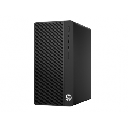 HP 280 G3 Microtower PC with FreeDOS 2.0; Intel® Pentium® G4560 with Intel HD Graphics 610 (3.5 GHz, 3 MB cache, 2 cores); 4 GB DDR4-2400 SDRAM (1 x 4 GB); 4 GB DDR4-2400 SDRAM (1 x 4 GB); 500 GB 7200 rpm SATA_1RX78PA